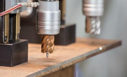 Broca anular furadeira magnetica